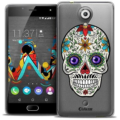 Cases, Covers & Skins Gel Case Cover For Wiko U Feel Extra Fine Flexible Skull Maria's Flower Selling Well All Over The World