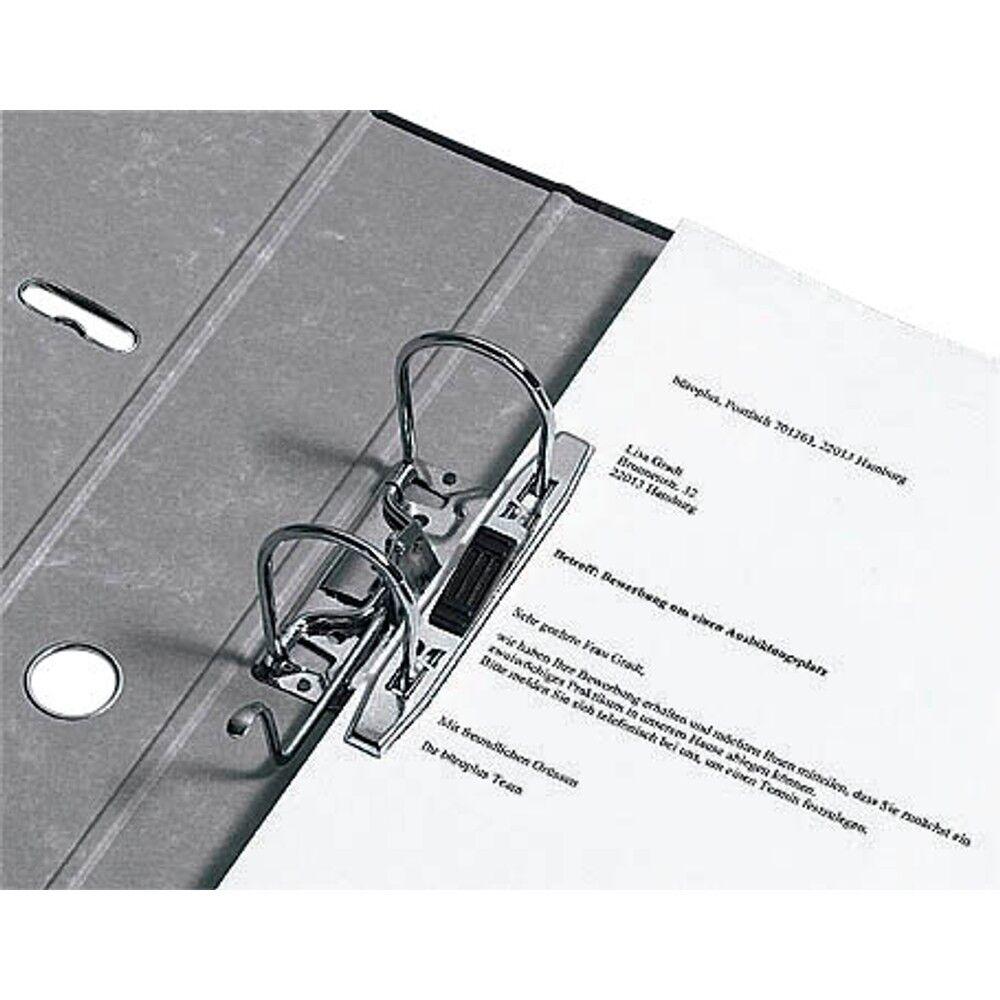 40 40 40 x ORDNER A4 8cm schwarz Deutsche Produktion TOP-Qualitäts-Schlitzordner 95ce7f