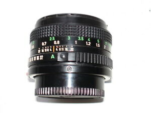 Objectif CANON FD 50 mm f:1,8