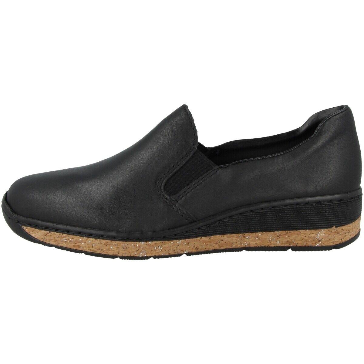 Rieker 59766-00 Donne schuhe damen Pantofola Anti-stress Ballerine schuhe Basse