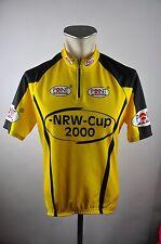 NRW CUP Radtrikot cycling jersey maglia Rad Trikot 2000 Gr. L 52cm Z22