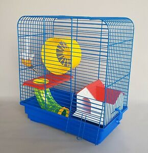 Dwarf Hamster Cage Mouse Rodents Cages Pet House Wheel Water Bottle Gerbil Mice 8944717366283 Ebay