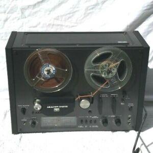AKAI-GX-4000D-Mulinello-a-REEL-TAPE-RECORDER-2-velocita-3-HEAD-VINTAGE-RARE