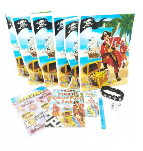 Pre filled Ready Made Party Bags Birthday Celebration Boys Girls Toys Pirate