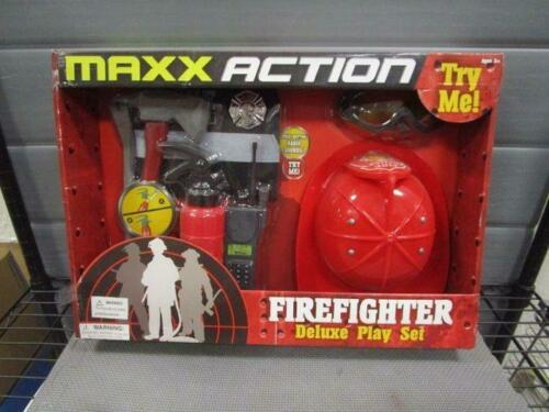 Maxx Action Firefighter Deluxe Costume Dress-up Play Set by Sunny Days