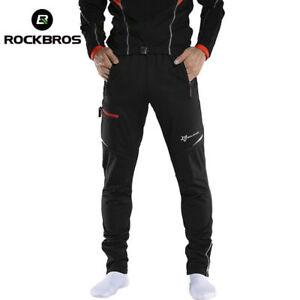 RockBros-MTB-Men-039-s-Winter-Casual-Pants-Cycling-Sportswear-Reflective-Trousers