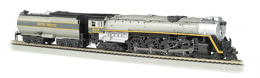 Union Pacific RR Ho Escala 4-8-4 Vapor Loco Nº Dcc Listo-Bachmann Trains  gran compra