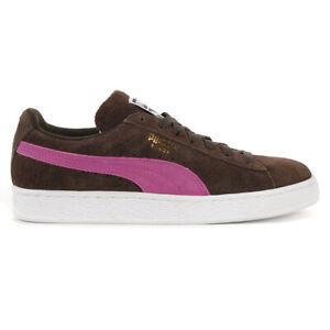 PUMA Women's Suede Classic Mole Magenta Haze Shoes 35546278 NEW!