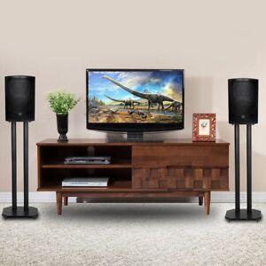 Stupendous Details About 24 Premium Surround Sound Book Shelf Speaker Stand W Non Slip Pads Durable Download Free Architecture Designs Scobabritishbridgeorg