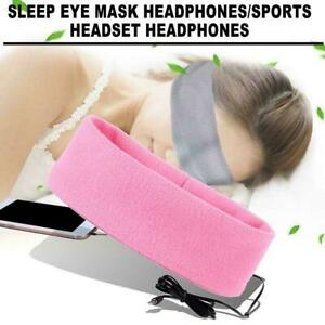 Komfort-Anti-Noise-Schlafen-Kopfhoerer-Stirnband-Maske-fuer-Samsung-Z9P3-P8J1