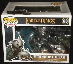 Vinyl Vehicle IN STOCK Funko Lord of the Rings Witch King w// Fellbeast Pop