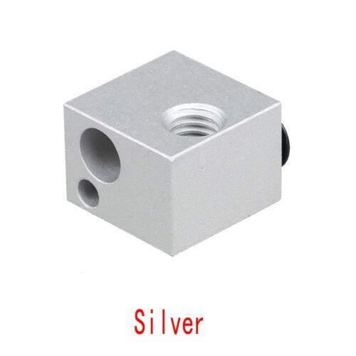 3D Printer V6 Aluminum Heating Block Heating Hot End Heating Accessories 2019