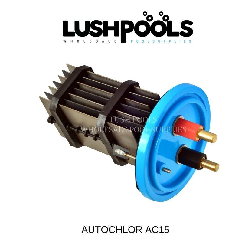 Auto Chlor Ac15 autochlor 15amp Std Reemplazo Clorador Celular 5 Años De Garantía