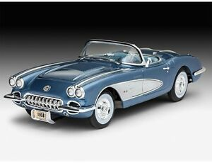 CORVETTE ROADSTER  1958 - Kit REVELL 1/25 n? 07037