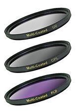 NEW Digital Concepts DC-FK3-52 3 Piece Filter Kit, 52mm UV/CPL/FLD (Black)
