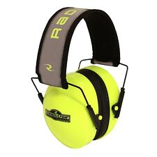 NEW RADIANS HI-VISIBILITY TERMINATOR FOLDING EAR MUFFS HEARING PROTECTION GREEN