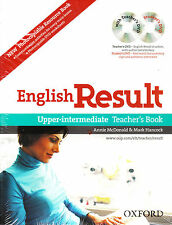 Oxford ENGLISH RESULT UPPER-INTERMEDIATE Teacher Pack w DVD&Copy Resource Bk NEW