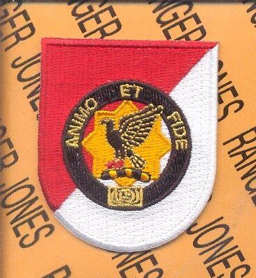 """USA Army Unit Crest DUI 1st Cavalry Regiment  /""""ANIMO ET FIDE/"""" 1 PAIR"""