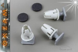 MERCEDES BENZ INTERIOR DOOR CARD MOULDING /& TRIM PANEL RETAINER CLIPS x20 WHITE