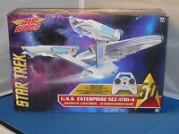 Air Hogs Remote Control Star Trek Uss Enterprise Ncc-1701-a Toy Nmisb 50thanniv