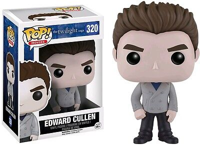 Twilight - Edward Cullen (Grey Jacket) Pop! Vinyl Figure NEW Funko