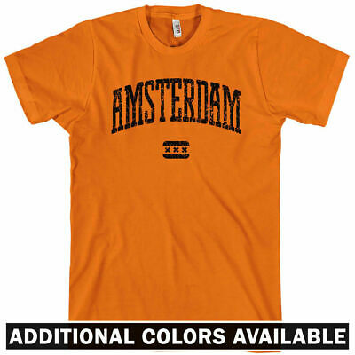 Nederland Holland Dutch Oranje Amsterdam NETHERLANDS T-shirt NEW XS-4XL