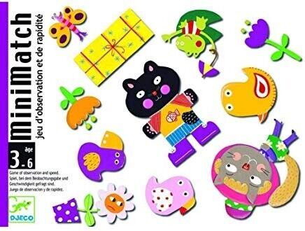 35175 Djeco Set di carte minimatch