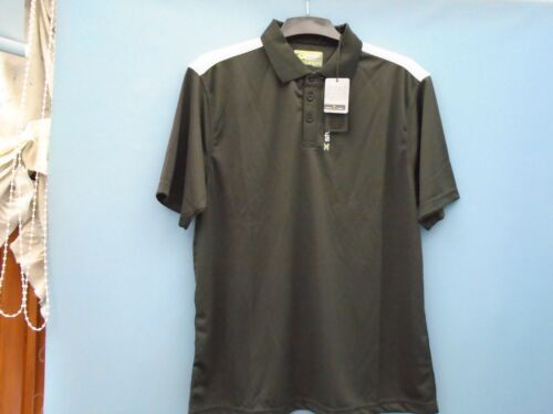 Brand New Stuburt Dri Back Polo Shirt ColourBlack Size Large