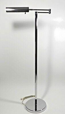 Vintage Koch Lowy OMI Chrome Swing Arm Floor Lamp