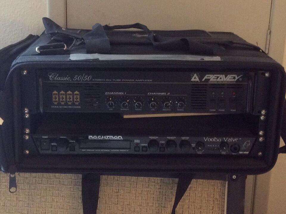 Guitarforstærker, Peavey/Rocktron Classic 50/50. Og