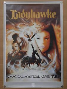 ladyhawke-ROLLED-uk-video-shop-film-poster-Rutger-Hauer-Matthew-Broderick