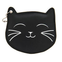 Katy Perry Id Holder Black Cat Prism Collection Black Faux Leather