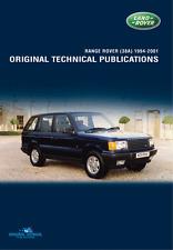 LAND ROVER RANGE ROVER P38 TECHNICAL PUBLICATIONS 1994-2001