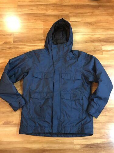 Nau Waterproof Breathable Down Jacket XL Hooded Fi