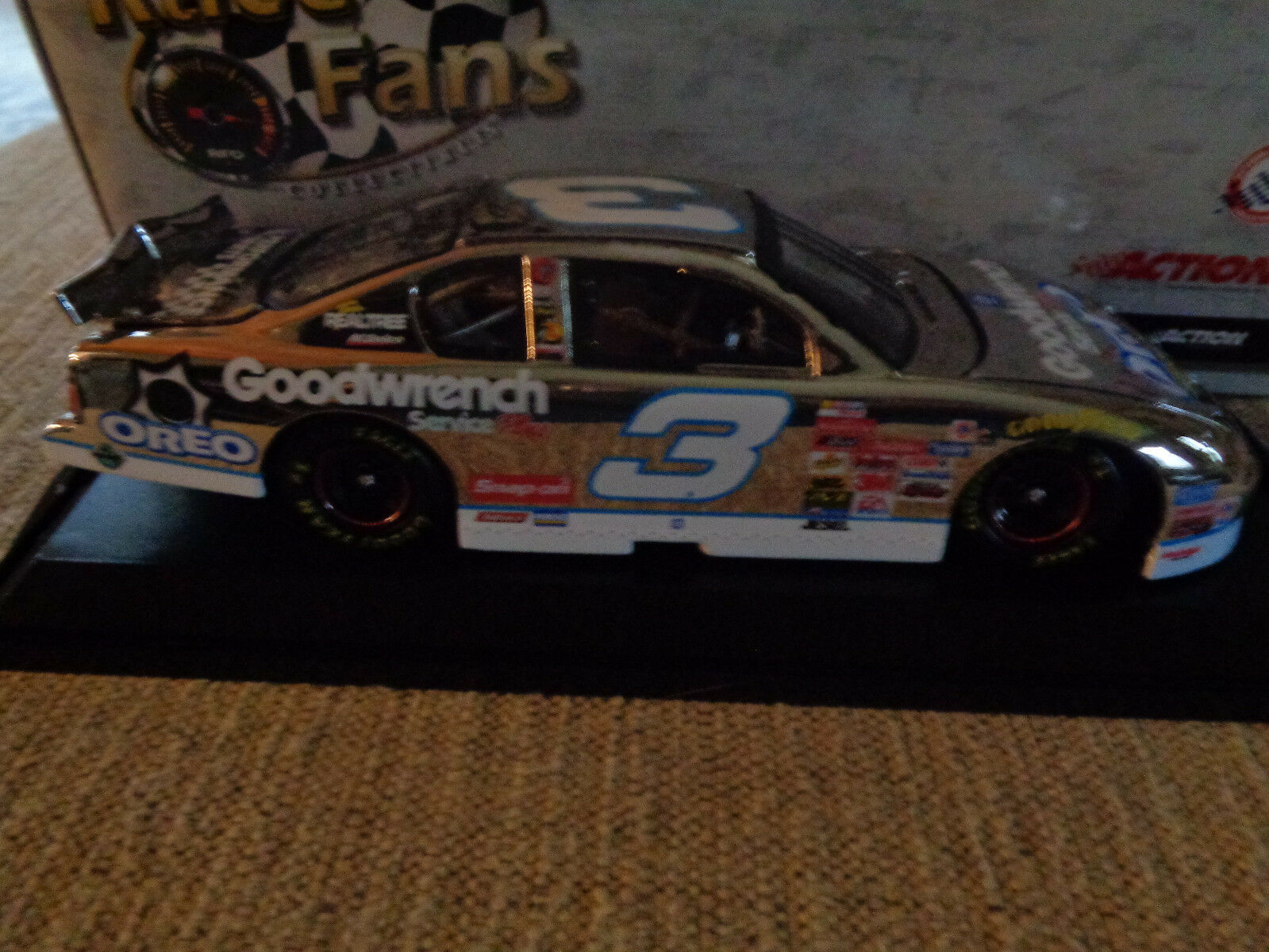 Dale Earnhardt ACTION   3 Oreo PLATINUM GOODWRENCH PLUS 1 24 QVC 1 624 RARE