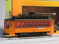 Mth Rail King Pittsburgh Bump N Go Trolley 4398 O Gauge Street Car 30-5142