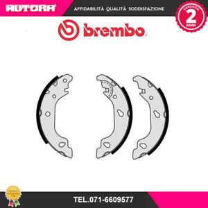 188 S23520 Kit ganasce freno post.Fiat Punto MARCA-BREMBO,BRECO