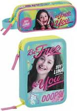 Disney Soy Luna Double Pocket Pencil Case iLuna