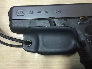 Kydex-Trigger-Guard-for-Glock-26-27-Black