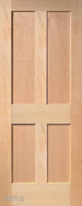 4 Panel Flat Mission Shaker Stain Grade Maple Solid Core Interior Wood Doors Ebay
