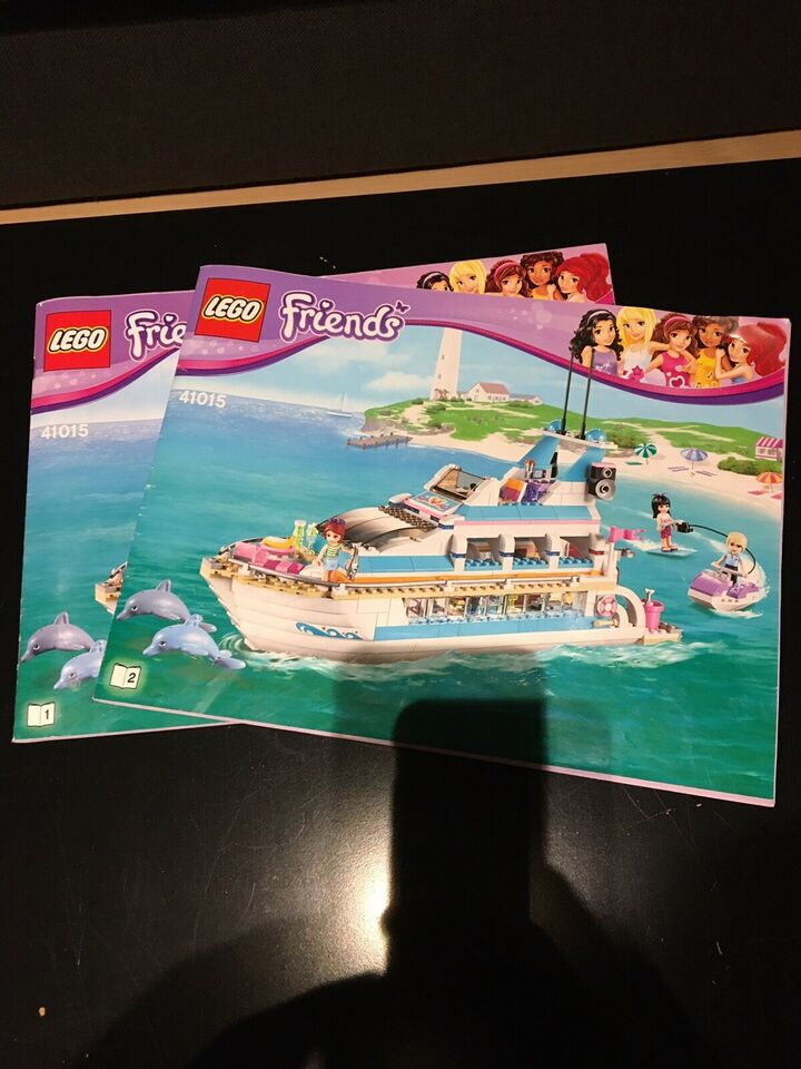 Lego Friends, Friends Dolphin Cruiser 41015