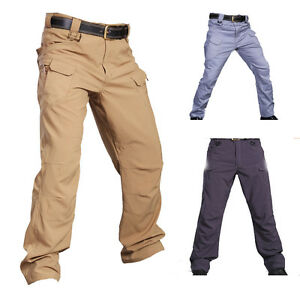 Men-Military-Tactical-Combat-pants-Hiking-Camping-Cargo-trousers-Quick-drying