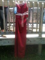 Alfred Angelo Dress 5 6 S Nwt, 2 Piece Wedding Formal