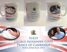 HRH PRINCE GEORGE ALEXANDER LOUIS - ROYAL BABY MUG CUP - (No.5)
