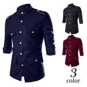 Stylish-Short-sleeve-Casual-Shirt-Fashion-Shirts-Tops-Men-Luxury-Slim-Fit