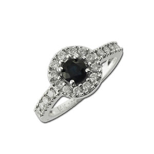Blue-Sapphire-and-Diamond-Ring-0-95-ct-tw-in-14K-White-Gold