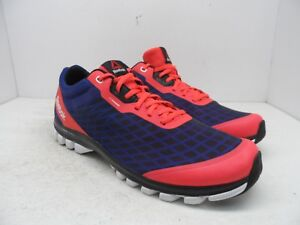 1c27ef6770e222 Reebok Men s Sublite Super Duo Athletic running Shoe Red Navy Size ...