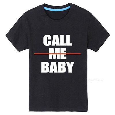 KPOP EXO New Album T-shirt Call Me Baby Beak Hyun Tshirt Chan Yeol Sehun Tee
