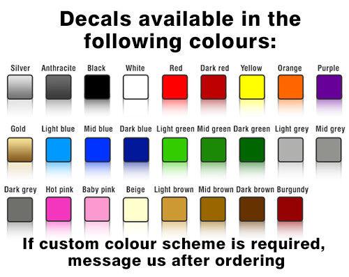 Mini Côté 018 Union Jack Drapeau Vinyle Stickers Autocollants Graphiques s/'adapte à toutes les minis