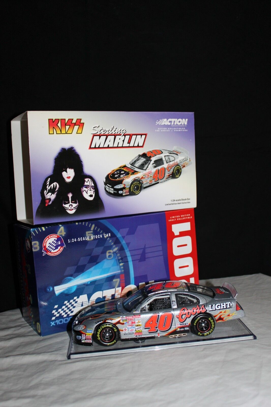 2001 KISS Coors Light Sterling Marlin 1 24 Diecast Collectible Car